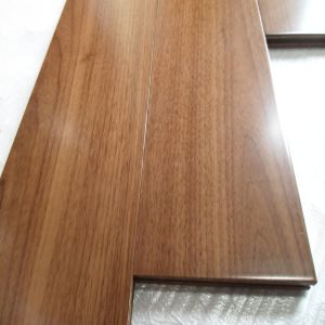 UV Oil Cocating Black American Walnut Engineered Wood Flooring pictures & photos