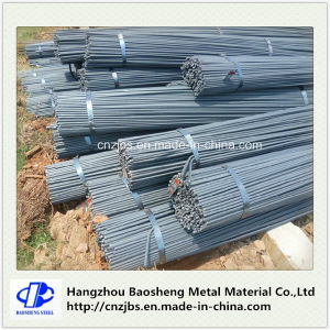 BS4449 Thread Screw Reinforcing Construction Deformed Steel Rebars for Concrete pictures & photos