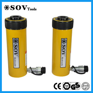 CE&ISO9001 Single Acting Hollow Plunger Hydraulic Cylinder (SV18Y) pictures & photos