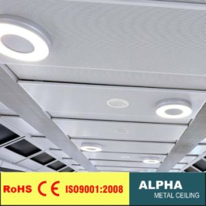 Aluminum Metal Decorative Flase Suspended Interior Wide Solid Panel pictures & photos