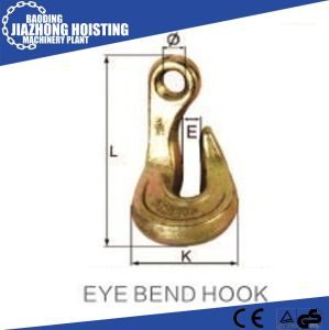 Factory Supply Eye Bend Hook 0.5t-20t pictures & photos