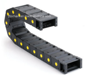 45*100mm Supplier CNC Plastic Cable Trag Chain
