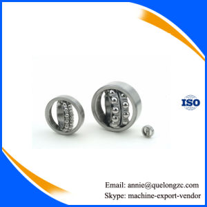 Chrome Steel Gcr15 Material Self-Aligning Ball Bearing From Bearing Factory (1208) pictures & photos