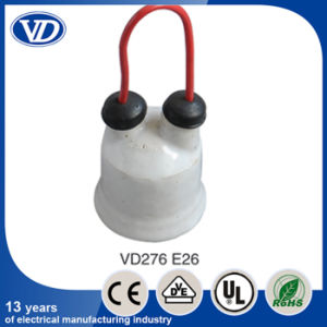 E26 Ceramic Waterproof Lamp Holder with Wire pictures & photos
