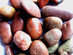 Red Pebble for Garden Landscaping pictures & photos