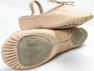 Pink Pigskin Leather Split Outsole Ballet Slippers/Ballet Shoes for Child and Adult pictures & photos
