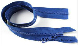 High Quality Plastic Long Chain Resin Zipper for Sale