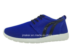 Newest Women Sport Shoes Running Shoes with PVC Outsole (T06-L)