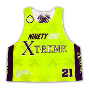 2015 New Design Custom Game Lacrosse Jersey pictures & photos
