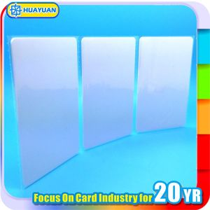13.56MHz RFID MIFARE Classic 1K PVC Blank white Smart Card pictures & photos