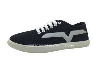 Cheap Men′s Casual Shoe with PVC Sole Injection (X176-M) pictures & photos