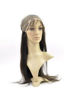 High Density 180% Brazilian Virgin Hair with Baby Hair Full Lace Wig pictures & photos