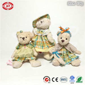 Fashion Well Dressed Teddy Bear Plush Girl Gift Sitting Toy pictures & photos