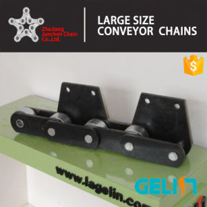 Large Size Bucket Elevator Chain Heart Treatment Stainless Steel Lifting Chain Nbh pictures & photos