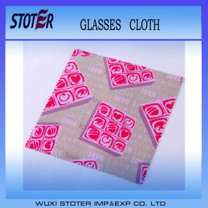 China Manufacture Microfiber Glasses Lens Cleaning Cloth pictures & photos