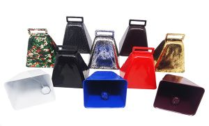 Metal Cow Bell in Customized Colors Logo as Noise Maker pictures & photos