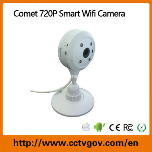 Comet Brand Mini Robot P2p Wireless IP Camera with IR Night Vision pictures & photos
