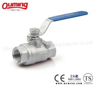 2PC Stainless steel Thread Floating Ball Valve with ISO 9001 (OEM) pictures & photos