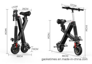 8 Inch Foldable&Portable Two Wheel Electric Balance Scooter for Daily Commuting pictures & photos