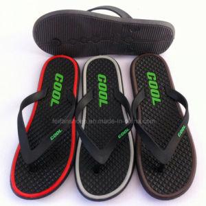 Latest Unisex PVC Flip Flops Slipper Beach Sandal (YF-2122 -2) pictures & photos