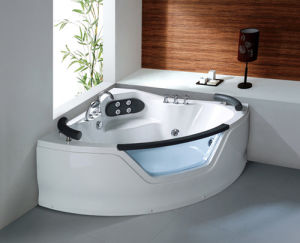 Indoor Sanitary Ware Freestanding Bathtub with Whirlpool/Massage/SPA Function pictures & photos