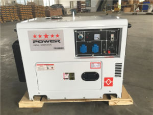 5kw Portable Silent Diesel Electric Generator pictures & photos