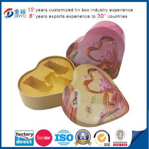 Heart Shaped Candy Chocolate Packaging Box with Foam pictures & photos