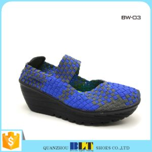 Hot Sale Woven Shoes for Wholesale pictures & photos