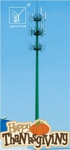 Customized Communication Tower for Cmcc and China Unicom pictures & photos