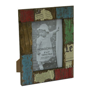 Antique Wooden Photo Picture Frame for Holiday Deco pictures & photos