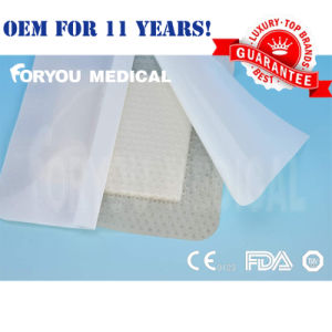 Sugical Medical Self Adherent Soft Silicone Foam Dressing with Border pictures & photos