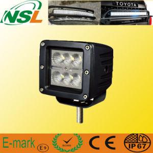 18W Car Truck Cube Lamp off Road Tractor 3 Inch Cube LED Working Lights IP67 pictures & photos