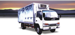 Top Quality Sinotruk Fish Meat Transport Box Refrigerator Truck with American Carrier Generator pictures & photos