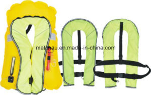 Auto and Manual Single Air Chamber Inflation Life Jacket pictures & photos