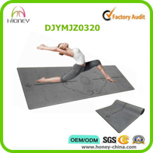 Position Line Printed Yoga Mat pictures & photos