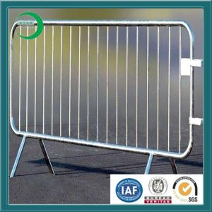 Galvanized Temproary Fencing for Pedestrian Crossing pictures & photos