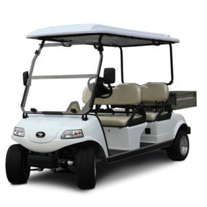 EEC 4 Seater Electric Golf Utility Vehicle with Cargo Box pictures & photos
