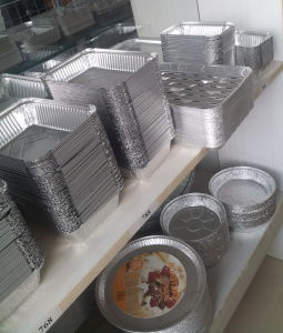 Special Mould for Baking Cake Aluminum Foil Containers pictures & photos