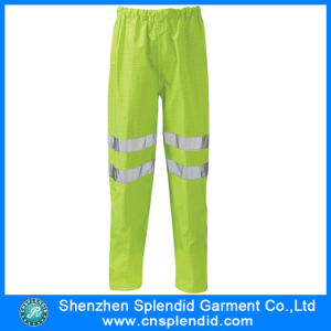 OEM Hi Visible Yellow Pants Casual Traffic Work Trousers Wholesale