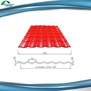 0.16mm Z50 Prepainted Galvanized Steel Roofing Sheet pictures & photos