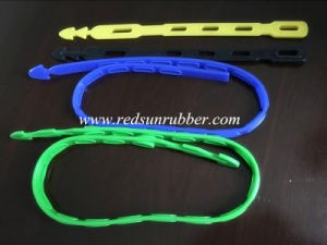 Flexible Molded Silicone Rubber Strap pictures & photos