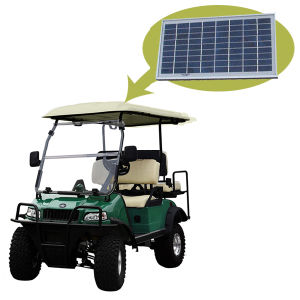 Golf Buggy Golf Trolley with Solar Panel Del2022D2z Dub pictures & photos