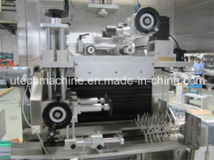 PVC Sleeve Labeling Machine (for Plastic Bottle UT-100) pictures & photos