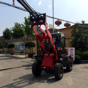 Jinma 4X4 Compact Tractor with Loader and Backhoe pictures & photos
