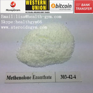 High Purity Steroid Powder CAS: 303-42-4 Methenolone Enanthate