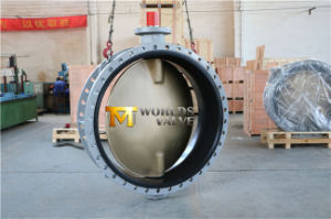 Dn1400 56inches Double Flanged Butterfly Valve with C95400 Disc (CBF01-TF01)