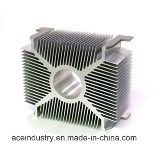 Aluminum Alloy Extrusion Heat Sink Profile pictures & photos