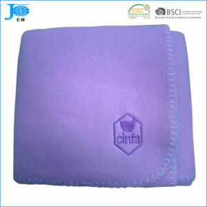 Polar Fleece Blanket with Embroidery Company Logo pictures & photos
