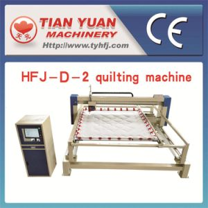 Continuous Quilting Production Line (HFJ-89) pictures & photos