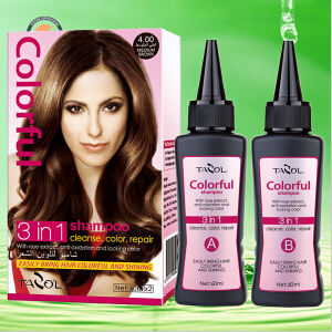 2016 100% Covering Gray Hair Color Shampoo in 5 Mins pictures & photos